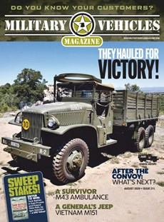 Military Vehicles | 8/2020 Cover