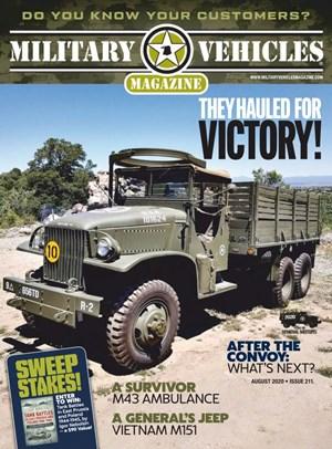 Military Vehicles Magazine | 8/2020 Cover
