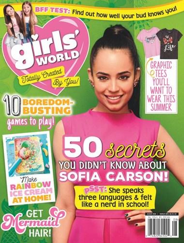 Girls' World   8/2020 Cover