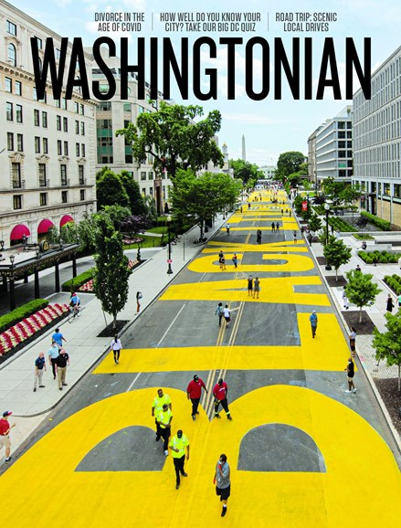 Washingtonian Cover - 6/1/2020