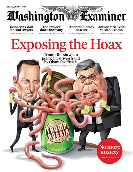 Washington Examiner Cover - 6/2/2020