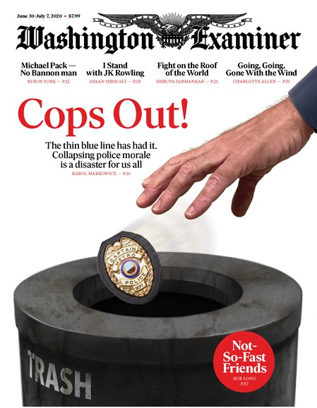Washington Examiner Cover - 6/30/2020