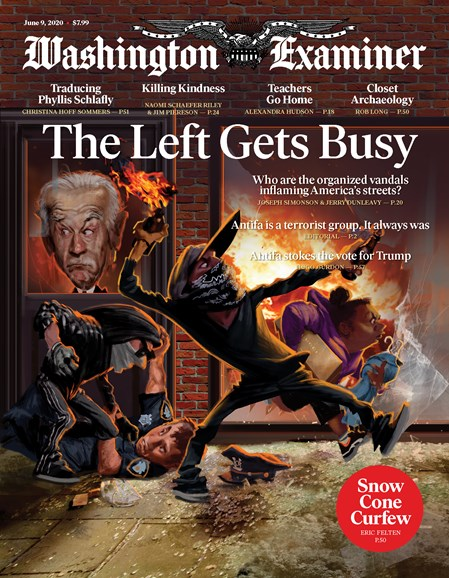 Washington Examiner Cover - 6/9/2020