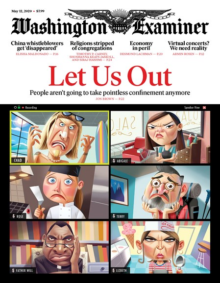 Washington Examiner Cover - 5/12/2020
