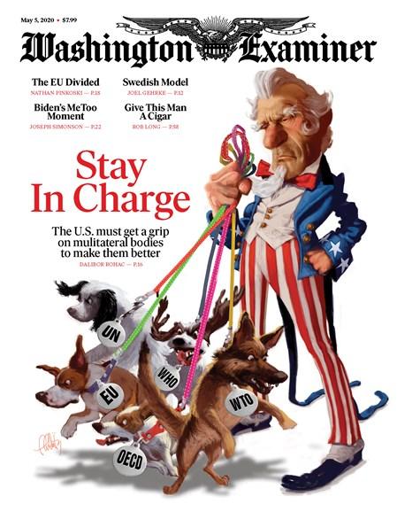 Washington Examiner Cover - 5/5/2020