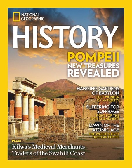National Geographic History Cover - 7/1/2020