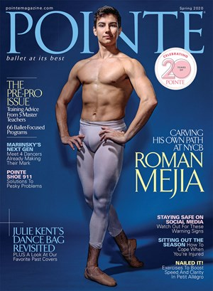 Pointe Magazine | 4/2020 Cover