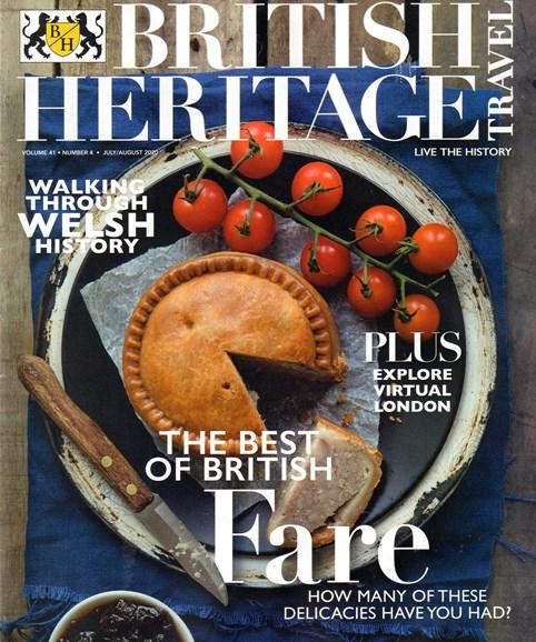 British Heritage Travel Cover - 7/1/2020