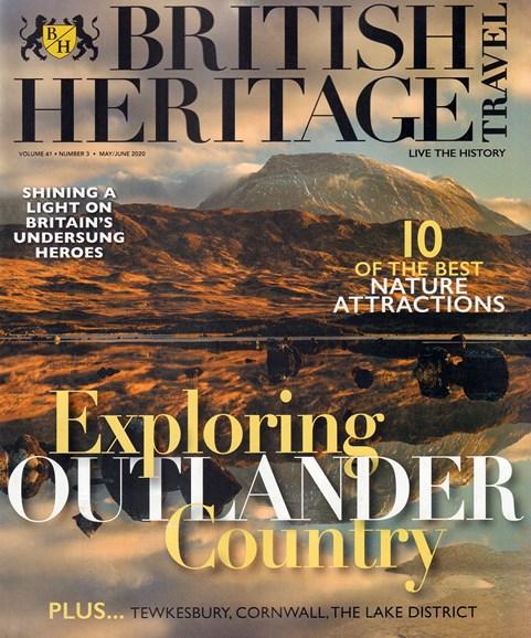 British Heritage Travel Cover - 5/1/2020