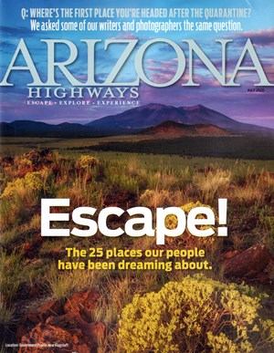 Arizona Highways Magazine | 7/2020 Cover