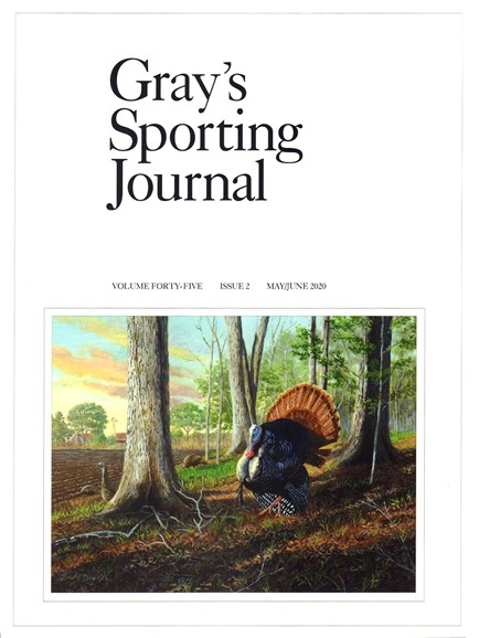 Gray's Sporting Journal Cover - 5/1/2020