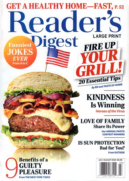 Reader's Digest - Large Print Edition Cover - 7/1/2020