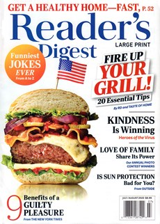 Reader's Digest - Large Print Edition | 7/2020 Cover