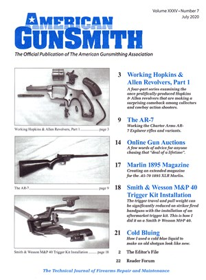 American Gunsmith Magazine | 7/2020 Cover