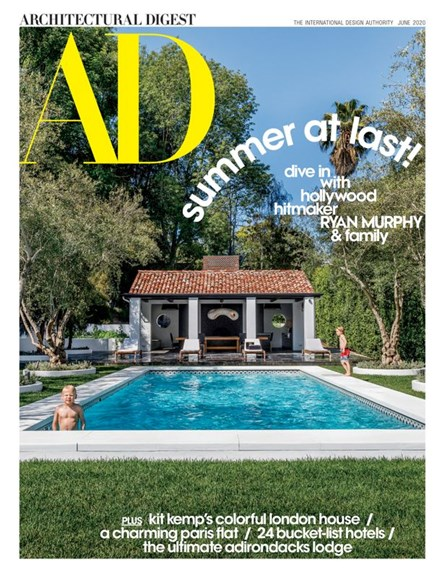 Architectural Digest Cover - 6/1/2020