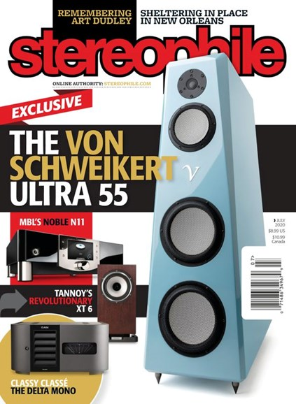 Stereophile Cover - 7/1/2020