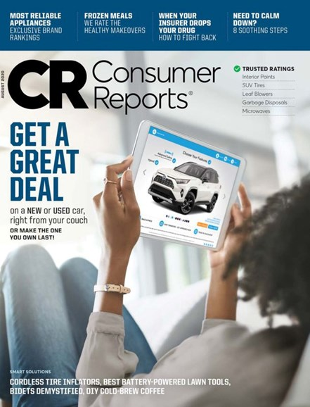 Consumer Reports Cover - 8/1/2020