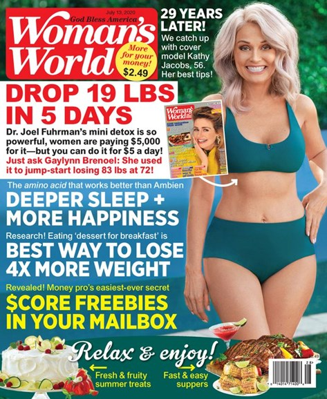 Woman's World Cover - 7/13/2020