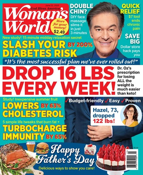 Woman's World Cover - 6/22/2020