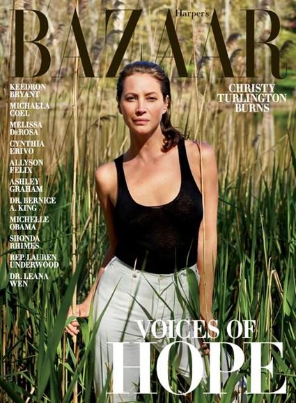Harper's Bazaar Cover - 6/1/2020