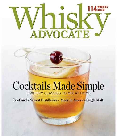 Whisky Advocate Cover - 6/1/2020