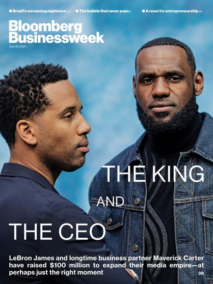 Bloomberg Businessweek Cover - 6/29/2020