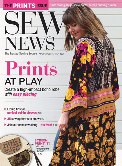 Sew News Cover - 8/1/2020
