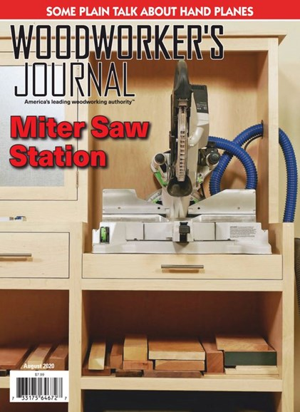 Woodworker's Journal Cover - 8/1/2020