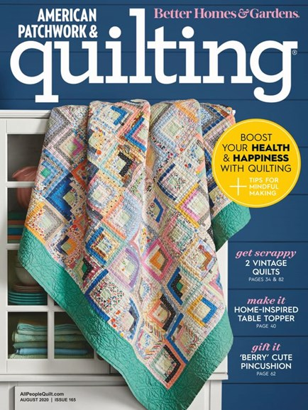 American Patchwork & Quilting Cover - 8/1/2020