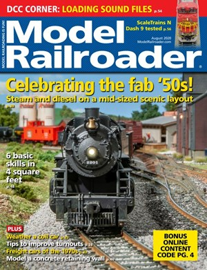 Model Railroader Magazine | 8/2020 Cover