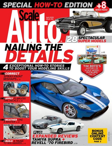 Scale Auto Magazine Cover - 4/1/2020