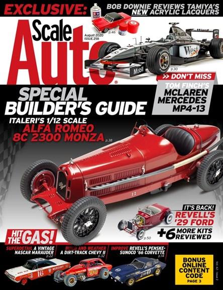 Scale Auto Magazine Cover - 8/1/2020