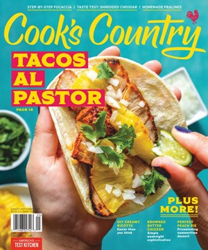 Cook's Country Magazine | 8/2020 Cover