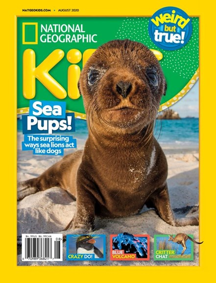 National Geographic Kids Cover - 8/1/2020