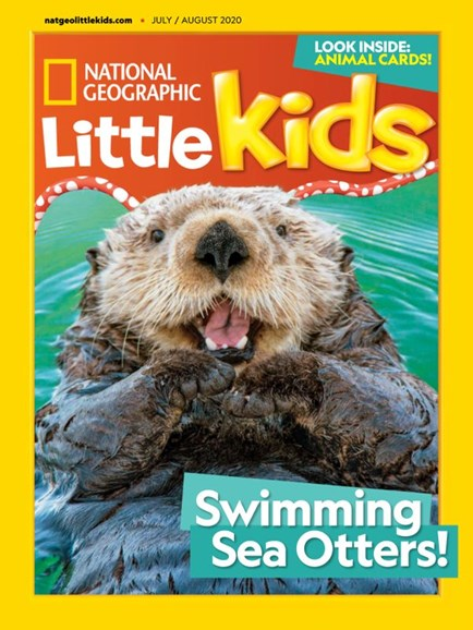 National Geographic Little Kids Cover - 7/1/2020