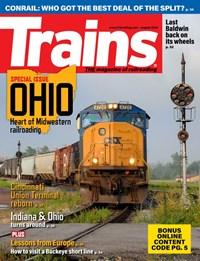Trains Magazine   8/2020 Cover