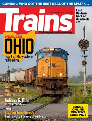 Trains Magazine | 8/2020 Cover