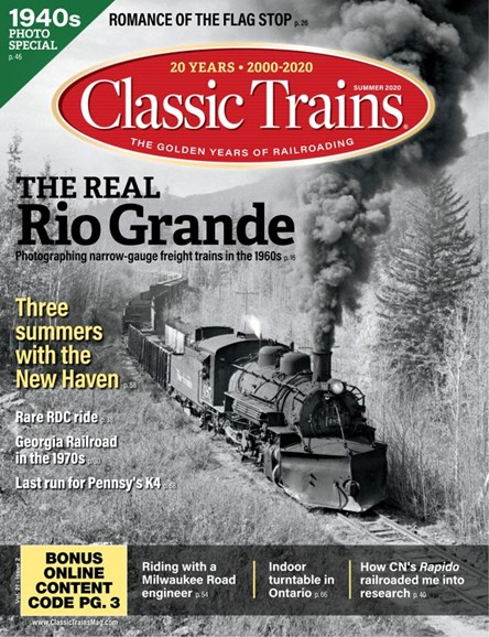 Classic Trains Cover - 6/1/2020