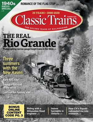 Classic Trains Magazine | 6/2020 Cover