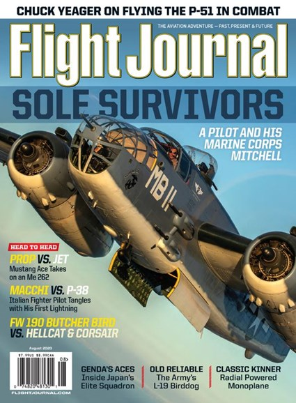 Flight Journal Cover - 8/1/2020