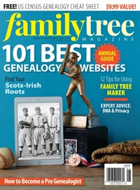Family Tree Magazine   7/2020 Cover