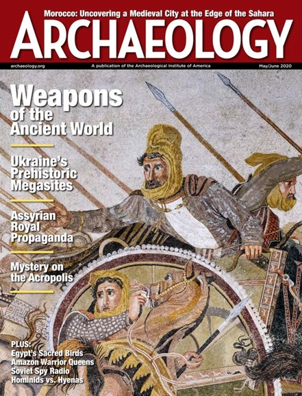 Archaeology Cover - 5/1/2020