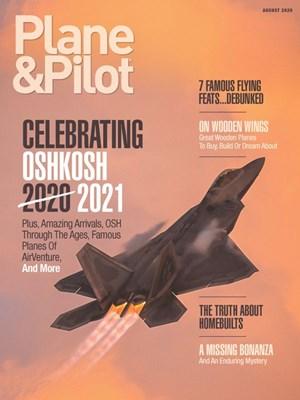 Plane & Pilot Magazine | 8/2020 Cover