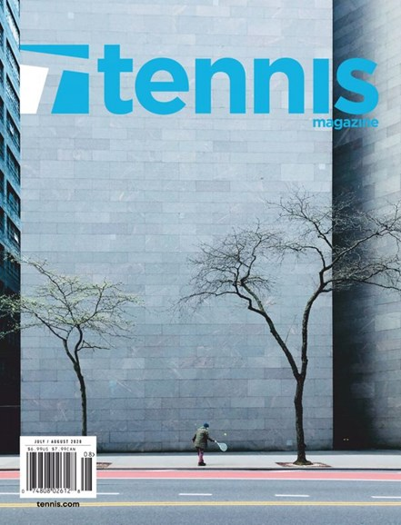 Tennis Magazine Cover - 7/1/2020