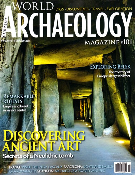 Current World Archaeology Cover - 6/1/2020