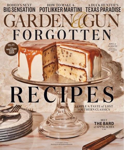 Garden & Gun Cover - 8/1/2020