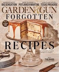 Garden & Gun Magazine   8/2020 Cover