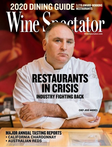 Wine Spectator Cover - 7/31/2020