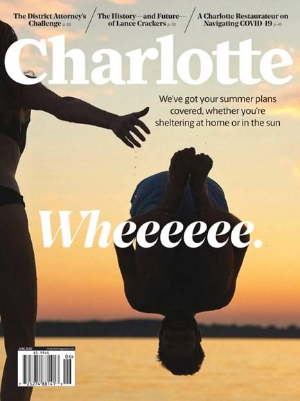 Charlotte Magazine Cover - 6/1/2020