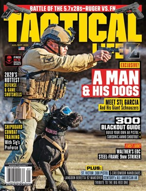 Tactical Life Magazine | 8/2020 Cover